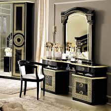 bedroom black bedroom dresser furniture set with mirror terrific black dresser with mirror sale 1156 00 aida vanity dresser and mirror in black gold
