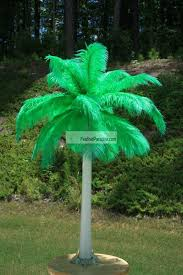 ostrich feather centerpieces feather plume palm tree wholesale discount dozen bulk cheap green
