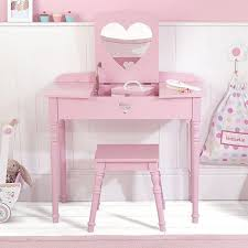 Pink Vanity Table Childrens Dressing Table And Stool Lv Condo
