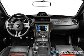 Mustang Interior 2014 2014 Saleen Mustang George Follmer Edition Dashboard New And