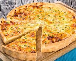 recette cuisine 3 recette quiche aux 3 fromages pomme de terre et jambon facile rapide