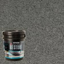rust oleum restore 4 gal cape cod gray liquid armor resurfacer