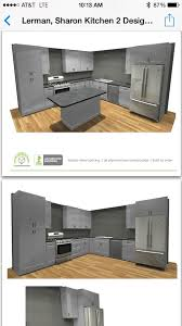 light grey or dark grey kitchen cabinets