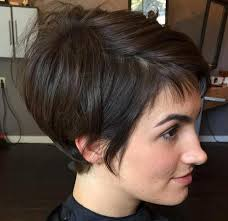 short brunette hairstyles front and back 35 trendiest short brown hairstyles and haircuts to try