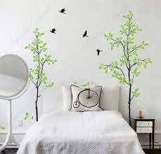 Tree Wall Decal For Nursery Popdecals Stickers Custom Popdecals Bedroom Happy Time Tree