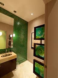 bathroom dazzling brown and green bathroom accessories