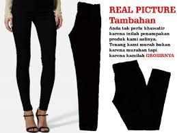 Celana Zara jual celana zara black wanita soft grosir murah harga