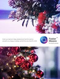 happy holidays from the team at foster 2017