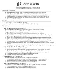 Proofreader Resume Resume U2014 Laura Decorte