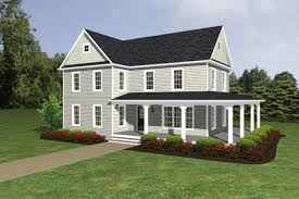plan 500018vv quintessential american farmhouse with detached