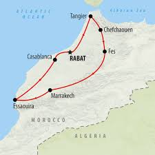 Map Of Morocco And Spain by Classical Morocco 14 Day Private Tour On The Go Tours
