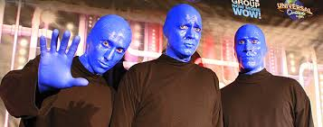 Blue Man Group Halloween Costume Preview Updated Blue Man Group Show Universal Orlando Adds