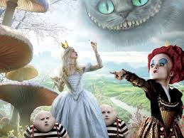 Alice In Wonderland Characters Movie Photo Background Wallpapers