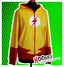 kid flash hoodie on the hunt