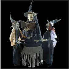 animated props size animated prop cauldron witches figure