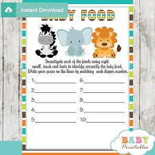 jungle themed baby shower jungle theme baby shower package d134 baby printables