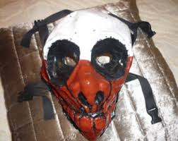 Payday Halloween Costume Payday 2 Dallas Homemade Latex Mask