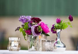 spring wedding mercury glass purple ranunculus lilac jpg