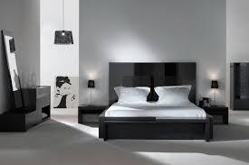 chambre a coucher noir et gris decoration chambre a coucher noir et blanc visuel 7