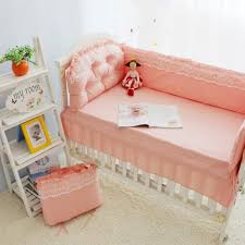 crib bedding pink and gray tags crib bumpers for