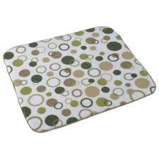 kitchen drying mat kitchen basics reversible dish mat 16in x 18 in