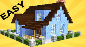 minecraft how to build a cool house in 15 min 30 youtube