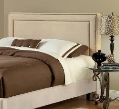 Fabric For Upholstered Headboard by Amazing Of Upholstered King Headboard Cream Fabric Tufted