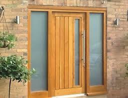 Exterior Doors Wooden Front Door Wood And Glass S S S Timber Front Doors With Glass