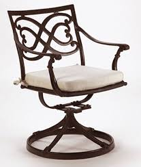 Wrought Iron Swivel Patio Chairs Captivating Patio Swivel Rocker With Swivel Sling Patio Chairs