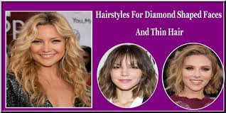 hairstyles for diamond shaped face hairstyles for diamond shaped faces and thin hair