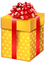 yellow gift box with png clipart best web clipart