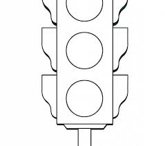 Traffic Light Coloring Page Coloring Beach Screensavers Com Light Coloring Page