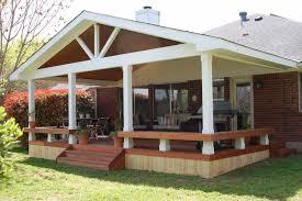 Wood Awning Design Wooden Patio Deck Designs Home U0026 Gardens Geek
