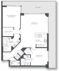 River City Phase 1 Floor Plans by Brickell City Centre Style Has No Labels Miami Fl