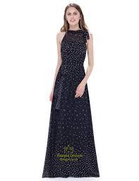 chiffon maxi dress black halter illusion neckline floor length a line chiffon maxi