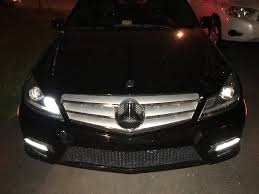 issue with c ring led on spyder oem style headlights on 2012 c300