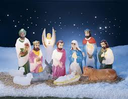 Lighted Outdoor Christmas Nativity Scene by Lighted Outdoor Nativity Scene Outdoor Nativity Sets Miles Kimball