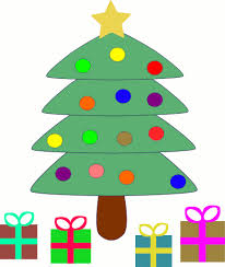 christmas tree christmas clipart trees and wreaths image 10008