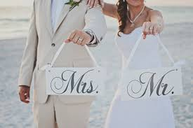 mr and mrs sign for wedding wedding signs mr and mrs wedding chair signs and or thank