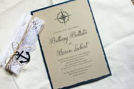 nautical themed wedding invitations rustic wedding invitation sets nautical wedding invitation sets