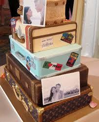 travel wedding cakes invitations google search travel theme