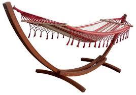 wooden hammock stand petra leisure 14 ft teak wooden arc hammock