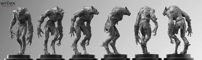 wild hunt witcher 3 werewolf artstation witcher 3 werewolf marcin klicki
