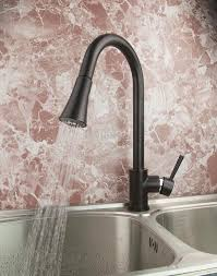 moen kitchen faucets rubbed bronze moen one handle kitchen faucet rubbed bronze side sprayer 4