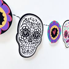 Make Sugar Skull Decor with Your Cricut 100 Directions