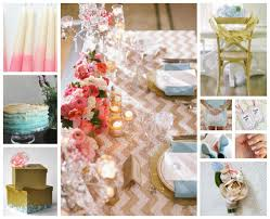 Colors That Go With Pink Wedding Color Schemes Pink Gold And Placid Blue