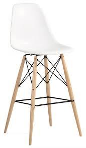 Plastic Bar Table Molded Plastic Bar Chair With Dowel Legs Midcentury Bar Stools