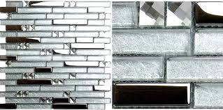 Mirrored Mosaic Tile Backsplash by Metal Diamond Glass Mosaic Bath Wall Silver Stainless Steel Backsplash