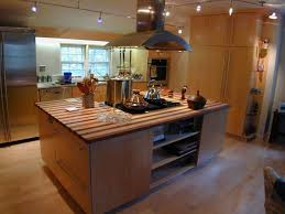 stainless steel kitchen island with butcher block top kitchen stainless steel cart small rolling throughout island with