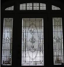 front door glass designs beveled glass front doors leaded stained glass entry inserts